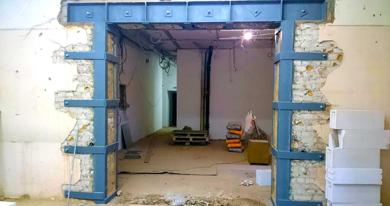 фото демонтажа несущих стен