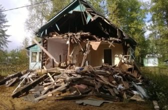 фото демонтажа деревянных конструкций